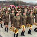 Female Army Band, Grand Monument on Mansu Hill, North Korea