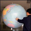Globe, Songdowon International Children's Camp, North Korea