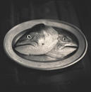 Salmon Heads, Sapporo, Japan