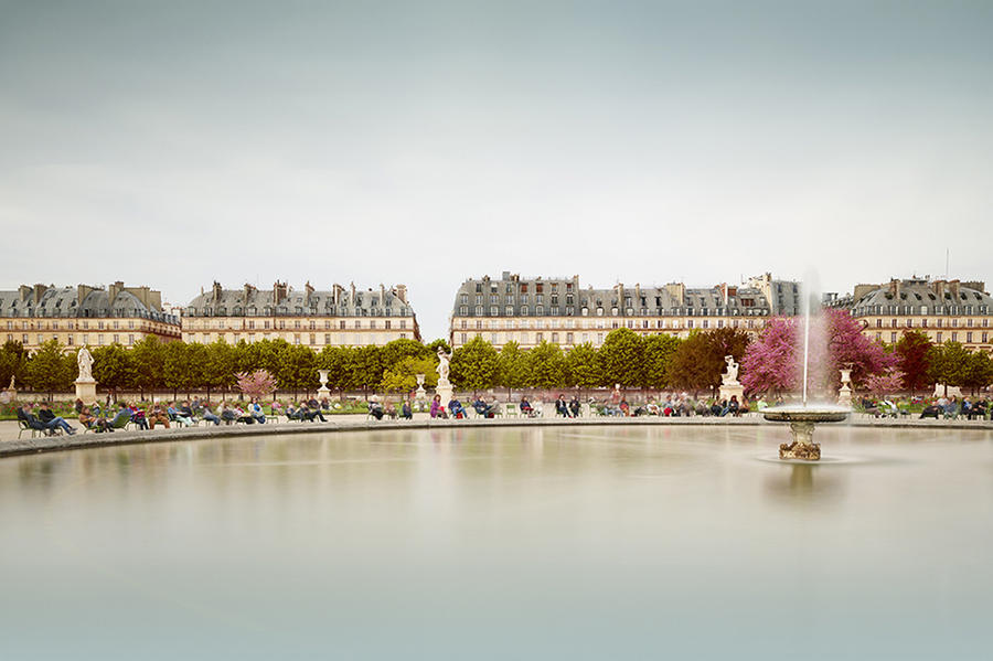 Tuileries Fountain, 2013