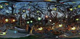 Holiday Lights, Teresita Boulevard, San Francisco