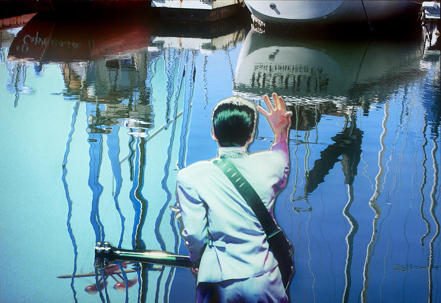 Inspector Saito's Seaside Satori, 2013,40' x 58'