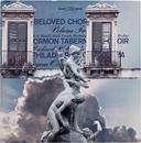 Beloved, mixed media on vintage album cover