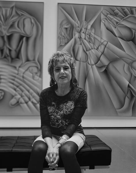 Judy Chicago - 6 July 2012