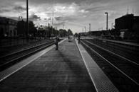 Waiting for an Evening Train