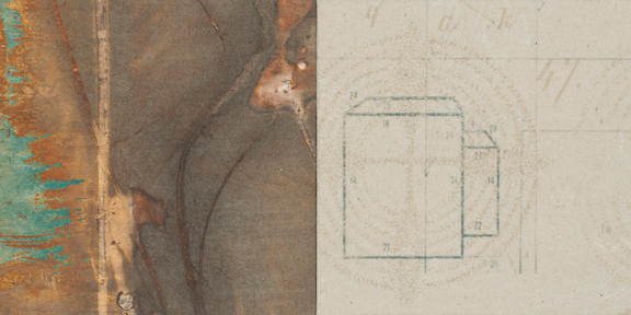 Arc of Departure Diptych 09 04