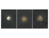 Eclipse Triptych 2011 24x10