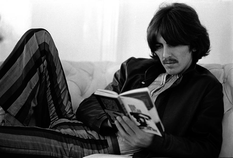 George Harrison, London, 1968