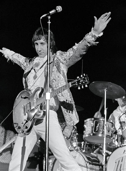 Pete Townshend, The Who, San Francisco, 1968