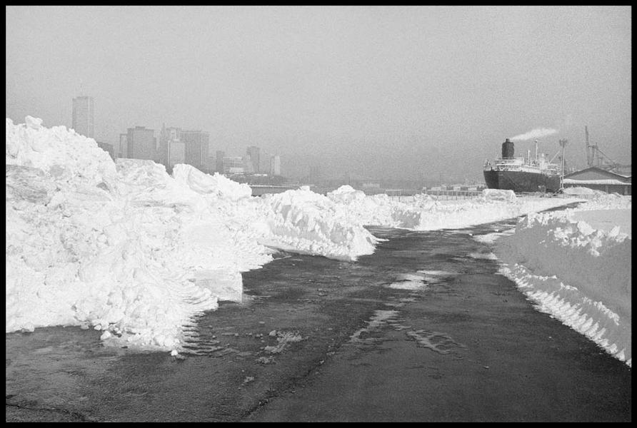 After the Blizzard, Pier 12