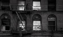 Tenement Windows At Night, Chinatown
