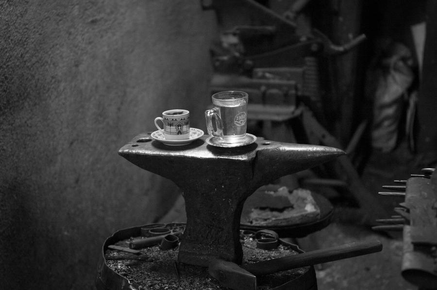 Tea Time At Blacksmiths