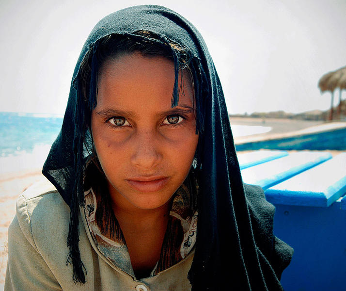 Bedouin Girl in Sinai