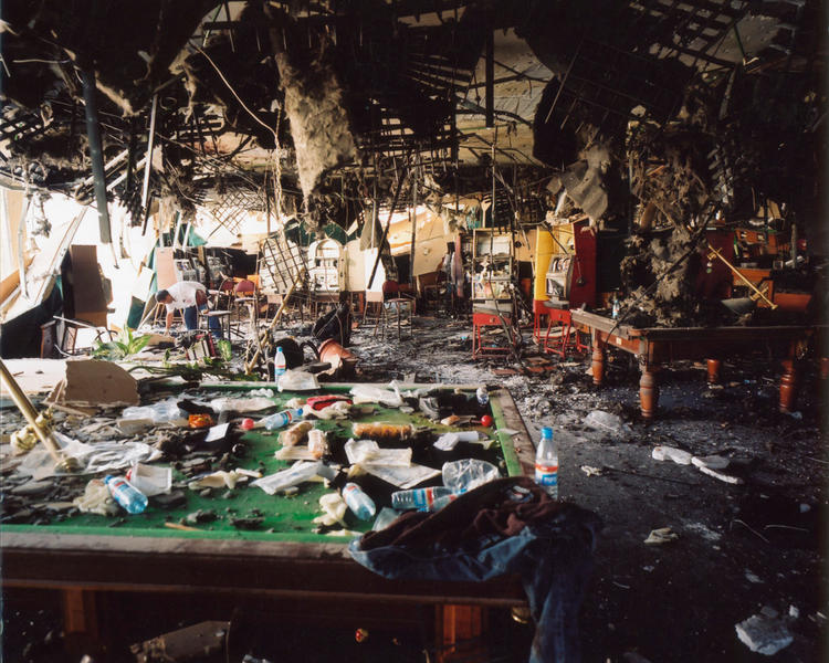 Hamas suicide bomb attack, Rishon Lezion, Israel