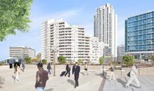 Carpeaux Square, Paris-La Défense, France