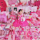 Yerim and Her Pink Things, Light jet Print, 2005