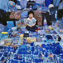 Seyoon and His Blue Things, Light jet Print, 2007
