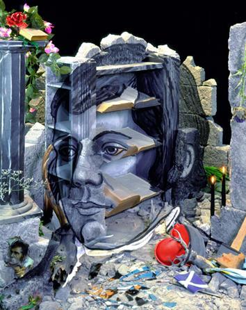 Portrait of Robert Burns 2001