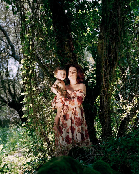 Mother and Child, 30 x 40 inches, c-print, 2011