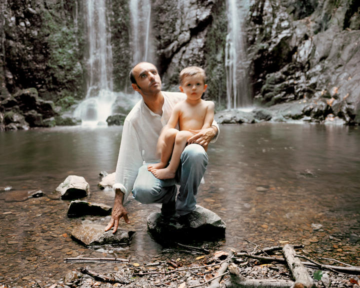 Father and Child, 40 x 50 inches, c-print, 2011