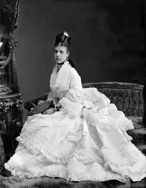 Mrs. Meredith, Montreal, 1872, William Notman