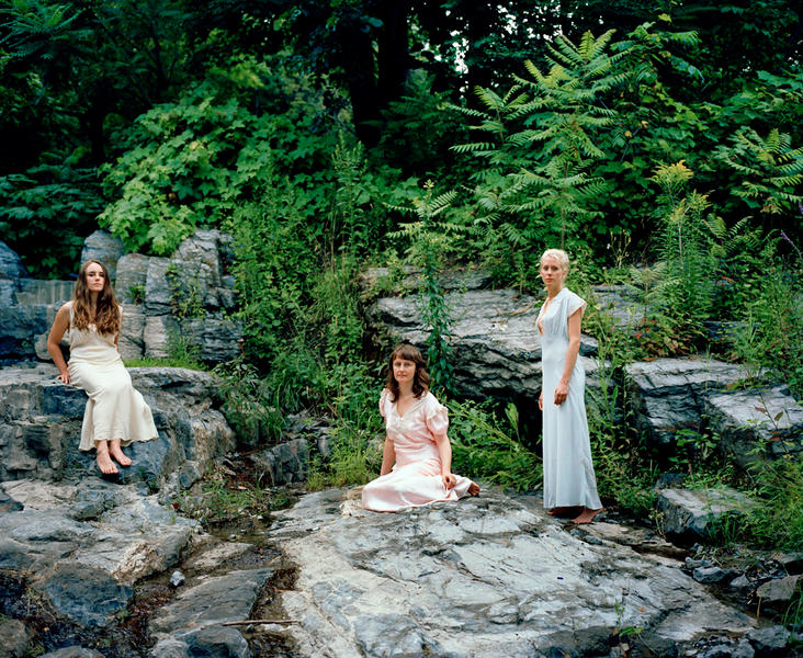 Ashley,Yuula& Roxanne,c-print,40 x 50 inches, 2016