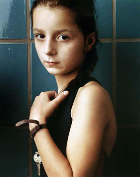 Girl with Key, 1986
