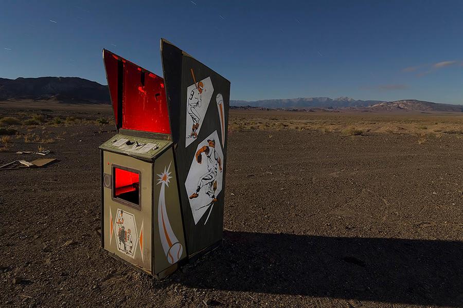 The Seventh Inning Stretch-- Coaldale, Nevada