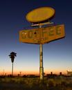 Coffee Sunset--Delano, California