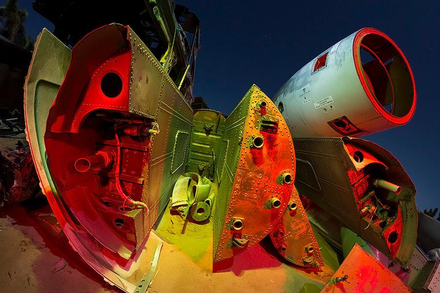 Earth Here-- Aircraft Boneyard