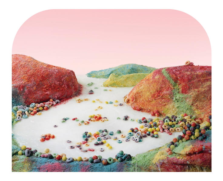 Fruit Loops Landscape, from Processed Views