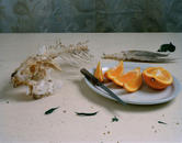 Still Life with Fish and Orange Slices