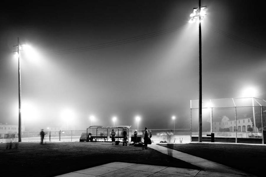 Night Game at Fort Scott Field