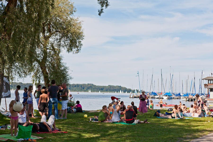 Picnic At The Lake, from the series Trans-Tableaus