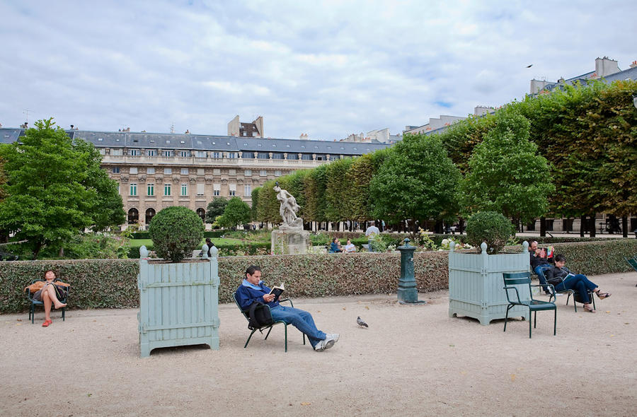 Palais Royal, Paris, from the series Lands of Milk