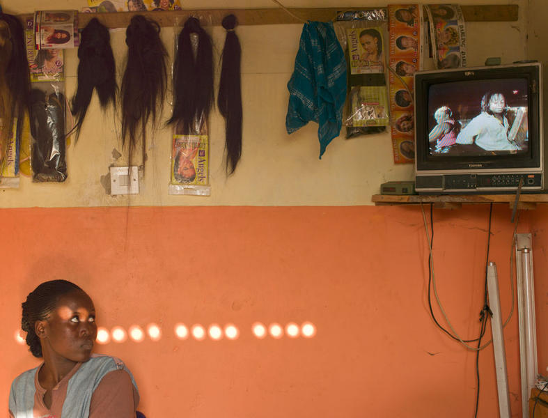 Beauty Salon, Kajjansi, Uganda, 2011