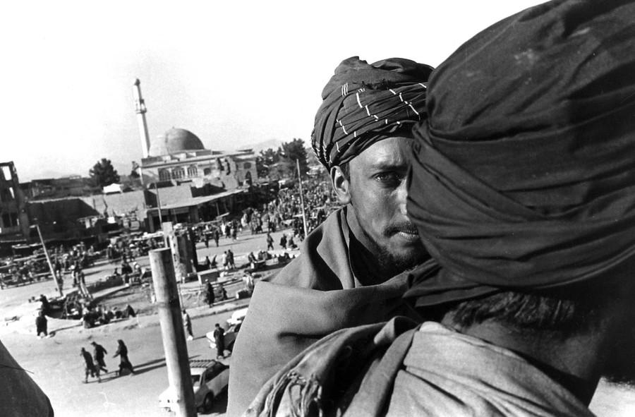 Taliban at Jadi Maiwand, Kabul, Afghanistan,1997