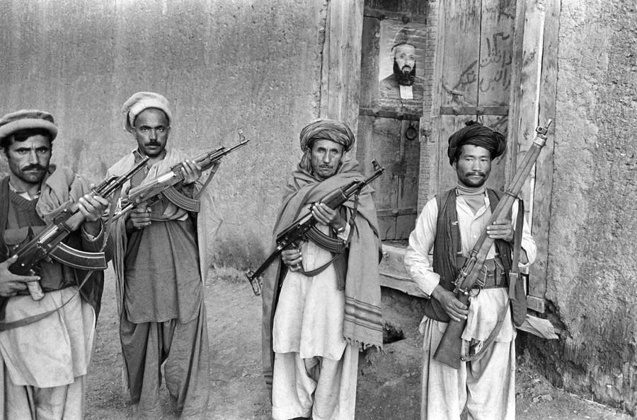 Mujahideen at Wageeza, Afghanistan , 1983