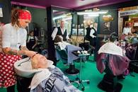 Belgium, Antwerp -New Trend Hairsaloon
