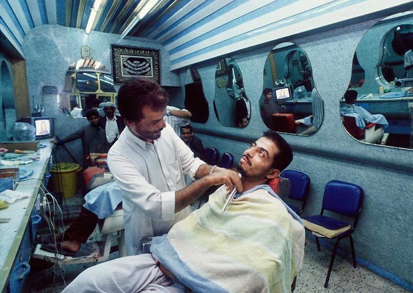 Yemen, Ta'izz - Barbersaloon Ta'izz