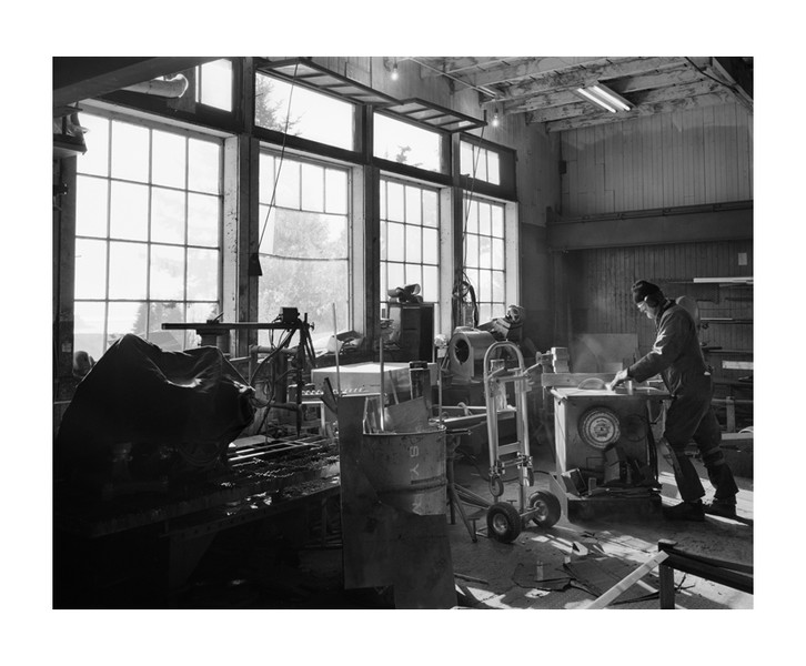 Razu Welding, Sooke, BC, October 2013