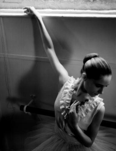 Dancer, arm extended (after Degas)