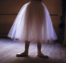 Young dancer standing