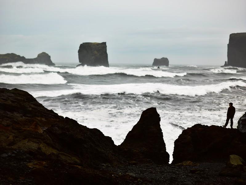 Waves, Dyrhólaey
