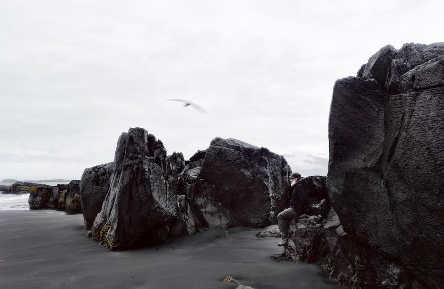 Black coast, Djúpivogur