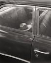 Hat in car