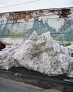 Claimed: Landscape, Snow Pile, Ashton Idaho