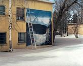 Claimed: Landscape, Ladder in Snow