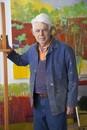 Wolf Kahn, Painter