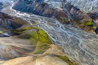 Braided Landscape, Landmannalauger, Iceland, 2012